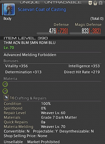 Ffxi crafting timer