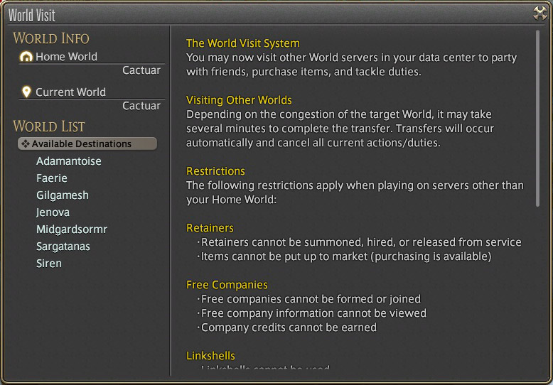From WoW to FFXIV: An overview | ckaleb[dot]com